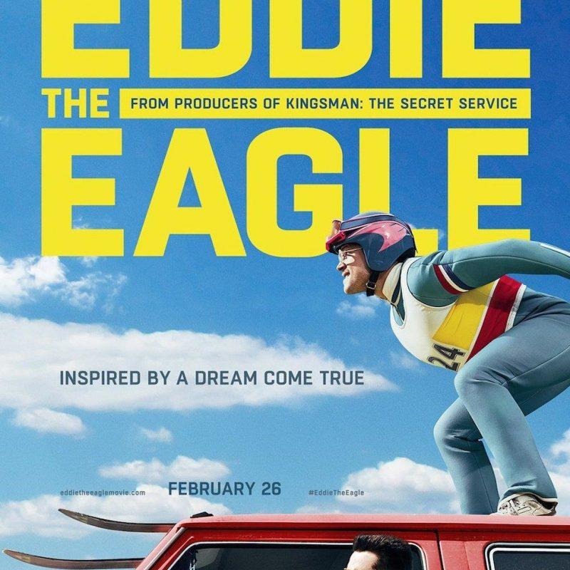 Eddie zwany orłem - plakat filmu