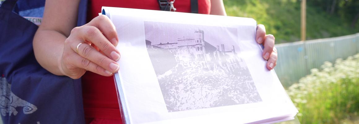Małgorzata Duda pokazuje stare fotografie Szczecina