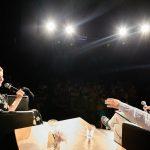 Gabriela Muskała iKrzysztof Spór podczas spotkania wramach 15. DWF