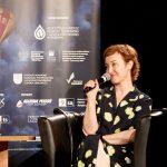 Gabriela Muskała podczas spotkania wramach 15. DWF
