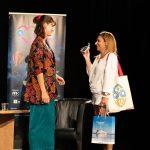Karolina Bruchnicka iSylwia Witkowska podczas spotkania wramach 15. DWF
