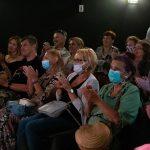Publiczność podczas spotkania zeZbigniewem Zamachowskim wramach 15. DWF