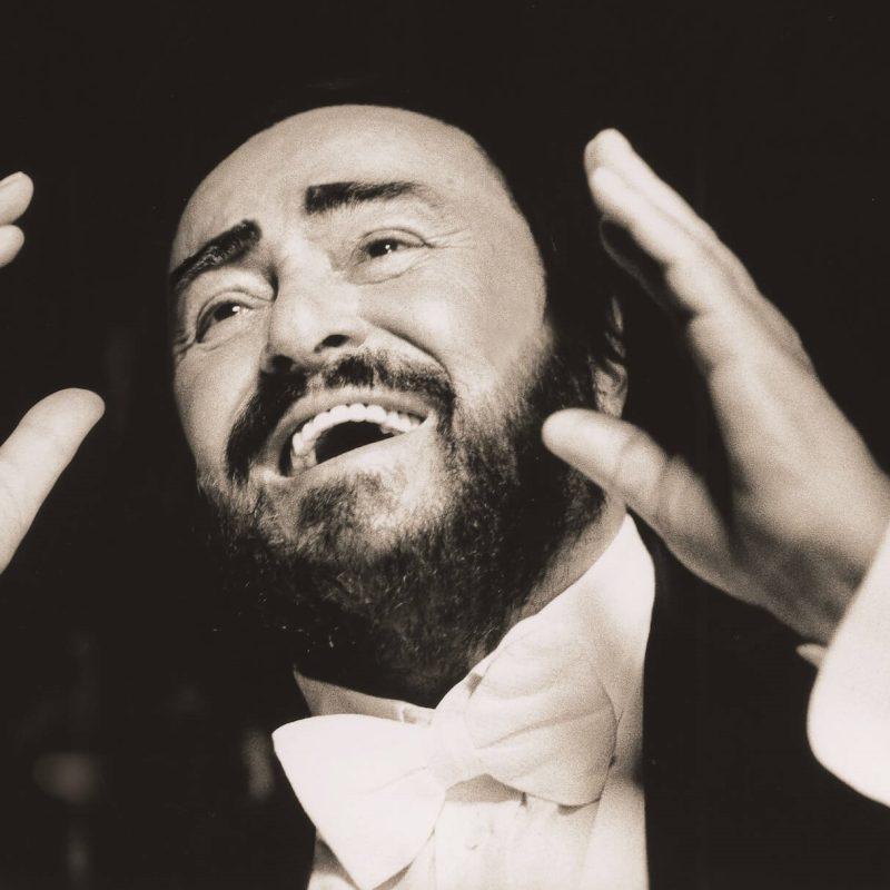 Luciano Pavarotti portret